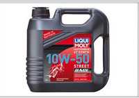 4 litres huile moteur moto LIQUI MOLY 10W50 STREET - Streetmotorbike
