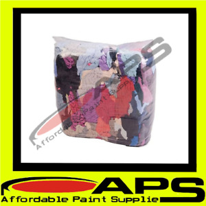 Coloured/White 10KG Cotton Bag Of Rags