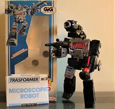 Takara Transformers Diaclone MC20, Black PERCEPTOR Microscope, VG+ w/ Box (1984)