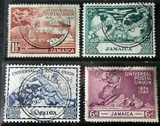 Jamaica – 1949 – UPU Set – Superb Used – (R6)