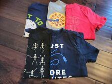 Boy's Lot of 5 Sz L Lg 10 12 Novelty T-Shirts Gap Gymboree TCP children's place