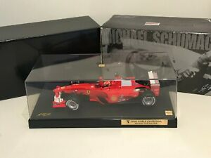🏎️ Limited Edition & Boxed Hot Wheels F1 Michael Schumacher 2000 World Champion