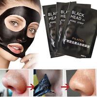 10 STüCKs BLACK HEAD PEEL OFF KILLER SCHWARZE MASKE MASK GESICHTSMASKE PICKEL-AW