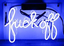 Neon Sign Fvck Off Beer Bar Foods Club Room  Decor Lamp Light Display Handicraft