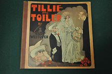 TILLIE THE TOILER BOOK 4 FINE! HTF PLATINUM AGE!! 1929