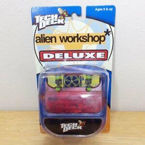 Tech Deck Alien Workshop Deluxe Vintage 1998 Skate Real Wheels Tools Case 90s