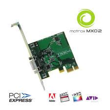 Matrox PCIE/ADP Host Card für die MXO2 Modelle PCI Express Karte mit Treiber-DVD