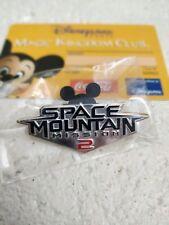 """Pin's Disney / EuroDisney """"Space Mountain Mission 2"""" 2005 RARE NEUF"""