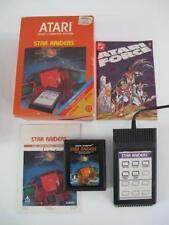 Atari 1980s Vintage STAR RAIDERS Touch Pad Controller Game Comic & Manual in Box