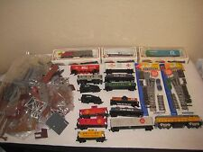 Ho Scale Bachmann Lifelike Train Lot With Extra Parts for Buildings, Bridges