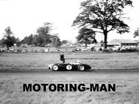 STIRLING MOSS FERGUSON P99 OULTON PARK GOLD CUP F1 1961 PADDOCK PHOTOGRAPH 5