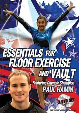 Floor Exercise and Vault 3 DVD Gymnastics Set featuring Paul Hamm Free Shipping
