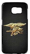 Navy Seal Seals USN Logo Army Back Skin Case Cover For Samsung Galaxy S6 S7 Edge