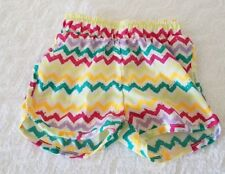 Nickelodeon Junior Girl Multi-Color White Shorts Sz 3T