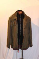 Andrew Marc Men's 3 Season Peacoat Jacket Dark Olive Green  Men's Size XXL