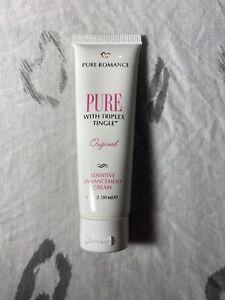 Pure Romance PURE with Triple Tingle Enhancement Cream Stimulant Sensitive Skin