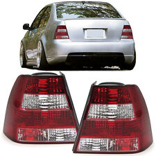 CRYSTAL CLEAR REAR TAIL LIGHTS LAMPS FOR VW BORA SALOON NICE GIFT 10/98-05/2005