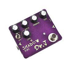 DR.J d-54 ombra ECHO chitarra effetto pedale Delay Reverb modulazione