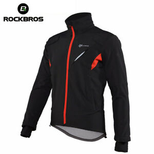 RockBros Cycling Winter Jacket Fleece Thermal Warm Windproof & Water-Resistant