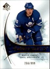 2009-10 SP Authentic Maple Leafs Hockey Card #191 Phil Oreskovic Rookie/999