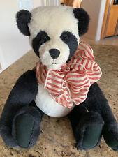 """New 15"""" Handmade Alpaca Panda Artist Bear - """"Sue Ling"""""""
