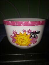 Raisin Bran Cereal Bowl Kellogg Company 2004 Collectible #31455 Guc Morning Sun
