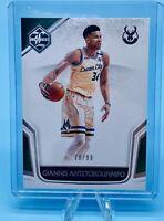 Giannis Antetokounmpo 2019-20 Panini Chronicles Basketball # /99 Limited Card