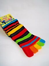 *FUN 'STRIPEY TOE LONG SOCKS'  Keep your feet warm at all times.