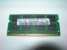 Barrette mémoire SAMSUNG 2 GO SO-DIMM DDR3 PC3 8500S