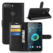 HTC Desire 12 + Funda para móvil flip libro Plegable Estuche protector CARCASA