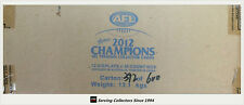 2012 Select AFL Champions Trading Card Factory Case (12 boxes+ Case Card)