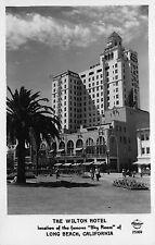 Frashers Fotos RP Postcard The Wilton Hotel in Long Beach, California~111863