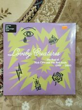 NCK CAVE & THE BAD SEEDS - Lovely Creatures / Best of Bad Seeds (3-LP new & ss)