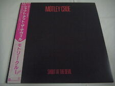MOTLEY CRUE-Shout At The Devil JAPAN 1st.Press w/OBI Ratt Guns 'N' Roses Kiss