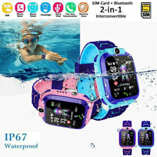 Anti-lost Kids Safe GPS Smart Watch Tracker SOS Call GSM Phone For IOS Android