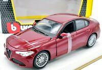 Model Car Alfa Romeo Giulia Burago Scale 1:24 vehicles diecast modellcar