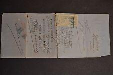 timbre fiscal 1879 sur lettre de change LONDRES