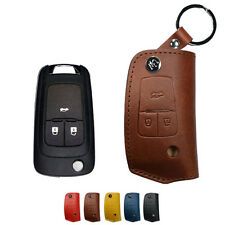 URBANWEST Buttero Leather Craft Car Key Case for Chevrolet -3 to 5 buttons