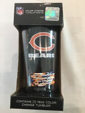 Chicago Bears Nfl Color Changing Logo Tumbler New