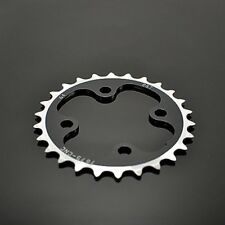 Driveline CNC 7075 Alloy Chainring 26T, BCD 64mm, 27g, Black