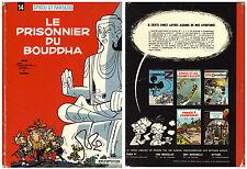 Spirou T14 - Le Prisonnier du Bouddha - Franquin - Eds. Dupuis - 1972