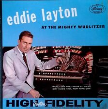 EDDIE LAYTON - AT THE MIGHTY WURLITZER - MERCURY LP
