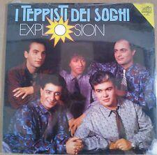 DISCO LP 33 GIRI - I TEPPISTI DEI SOGNI - EXPLOSION - DURIUM BLUE MELODY MINT
