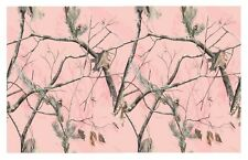 Pink Tree Camouflage Edible Party Cake Image Topper Frosting Icing Sheet