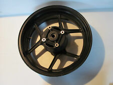 KAWASAKI Z750 ZR750 2004 2005 04 05 REAR WHEEL STRAIGHT BLACK RIM