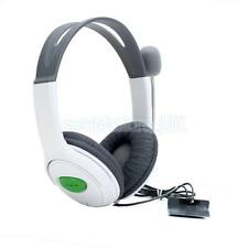 Live Headphone Headset with Microphone Mic and Volume Control for Xbox 360 Game