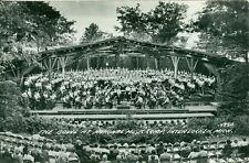 Interlochen, MI Concert at the Bowl, National Music Camp RPPC
