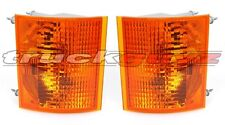 fit 1990-2006 Mack Truck CH600 CH-600 Corner Park Signal Light PAIR