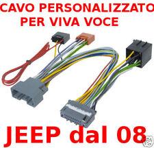 CAVO VIVA VOCE PARROT LANCIA VOYAGER 4/767 +4/073 CON AMPLIFICATORE