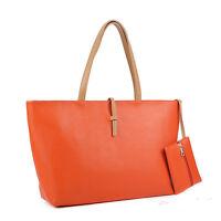 girls korean Fashion Women's PU Shoulder Bag Ladies Tote Bag Handbag purse